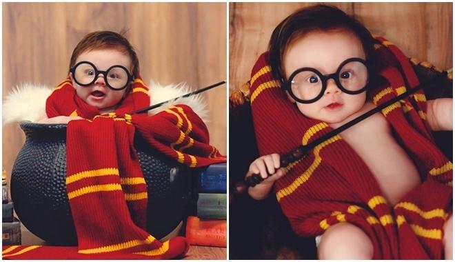 quay phim hóa thân nhân vật kinh điển cho bé: Harry Potter